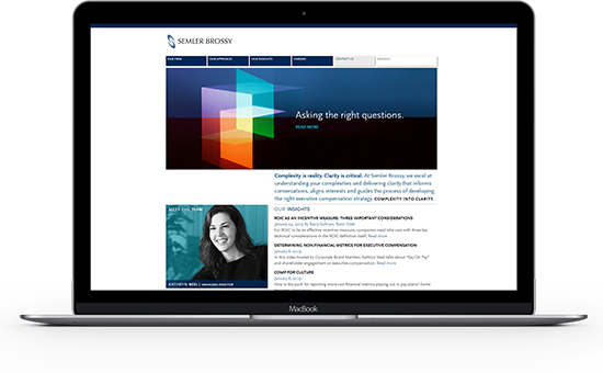 Explore Semler Brossy's website for more information on their employee compensation consulting services.