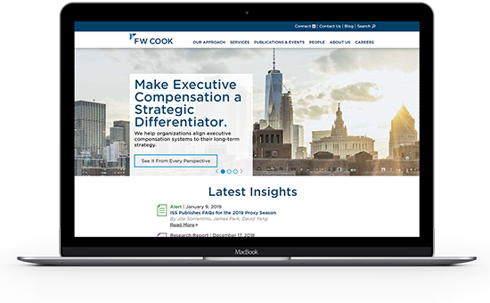 Explore FW Cook's employee compensation consulting services for more information.