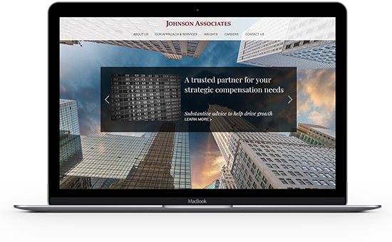 Compensations consulting for financial services firms from Johnson Associates is a top choice.
