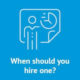 When should a nonprofit consider hiring a consultant?