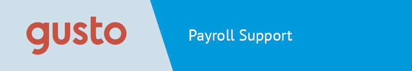Gusto is an excellent HR consulting firm and service for outsourcing your payroll.
